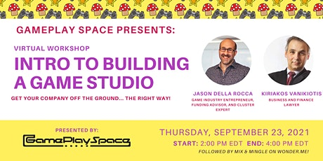 Intro to Building a Game Studio tickets