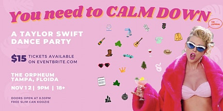 You Need to Calm Down: A Taylor Swift Dance Party tickets
