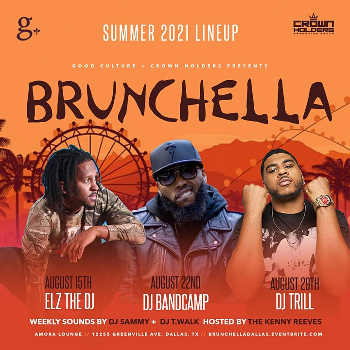 Brunchella : Brunch and Day Party @ Amora Lounge image