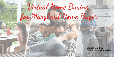 Virtual Home Buying Masterclass for  Maryland Buyers tickets
