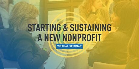 Starting & Sustaining a New Nonprofit tickets