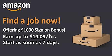 Amazon Job Hiring Virtual Information Session tickets