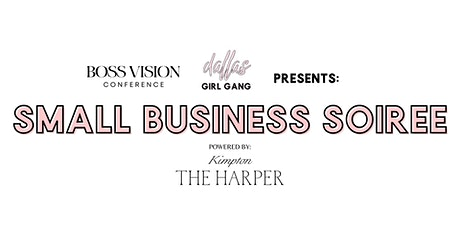 Small Business  Soiree tickets