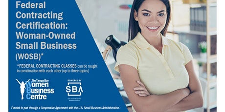 Federal Contracting Certification: Woman Owned Small Business (WOSB) tickets