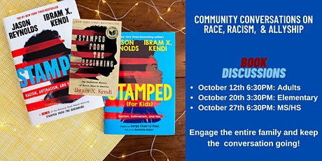 Book Discussion: Stamped from the Beginning tickets