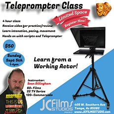 Arizona Acting Class Teleprompter #Acting #Class #Teleprompter tickets