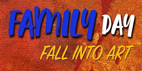 Family Day: Fall into Art tickets
