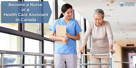 Philippines+UAE: Become a Nurse/HCA in Canada – Free Webinar: Sept 17 tickets