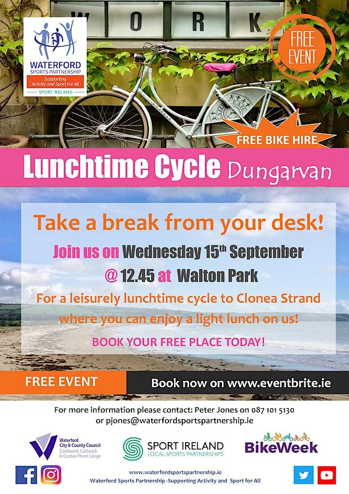 Bike Week - Lunchtime Cycle - Dungarvan image