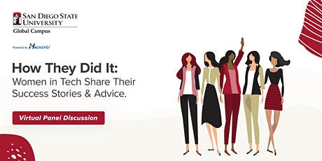 How They Did It: Women in Tech Share Their Success Stories & Advice | Panel tickets
