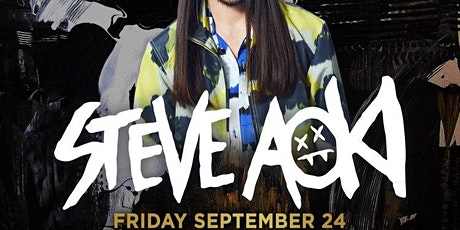 Steve Aoki @ Noto Philly September 24th tickets