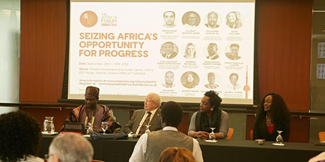 The Africa Forum Canada 2022! Theme: Africa - Building Back Resiliently tickets