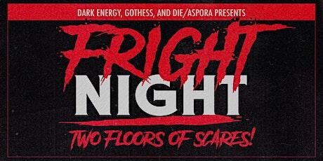 FRIGHT NIGHT // Scary Black, Kanga, Pixel Grip, Rare DM tickets