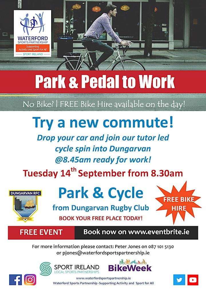 Bike Week - Park & Pedal to Work image
