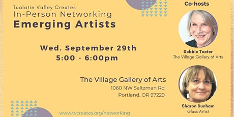 In-Person Networking: Emerging Artists at The Village Gallery of Arts tickets