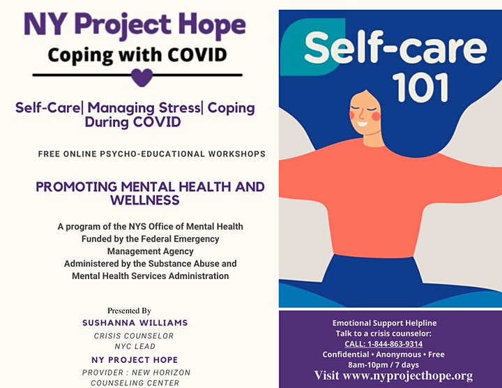 Self-Care   Managing Stress   During COVID image