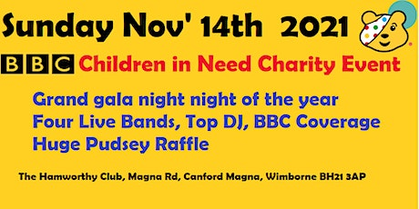 Children In Need at The Hamworthy Club tickets