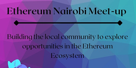 Ethereum Nairobi Meet-up tickets