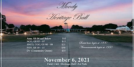 MOODY HERITAGE BALL tickets