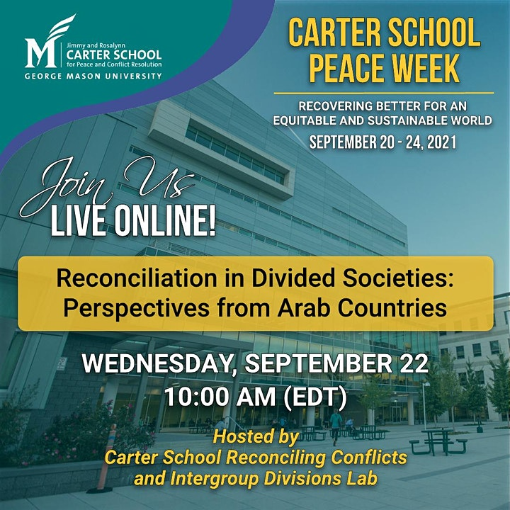 Reconciliation in Divided Societies: Perspectives from Arab Countries image