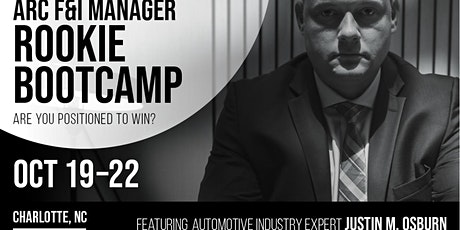 F&I ROOKIE BOOTCAMP© certification course (Charlotte, North Carolina) tickets