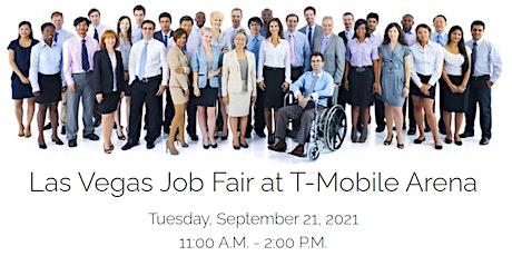 Las Vegas Job Fair at T-Mobile Arena tickets