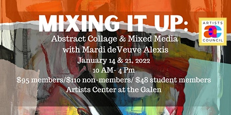 Mixing It Up: Abstract Collage & Mixed Media with Mardi de Veuve Alexis tickets