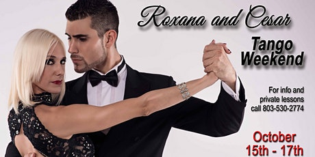 Roxana and Cesar Tango Weekend tickets