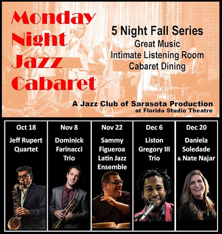 Monday Night Jazz Cabaret - Fall Series image