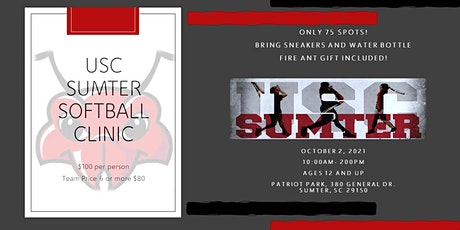 USC Sumter Softball Clinic tickets