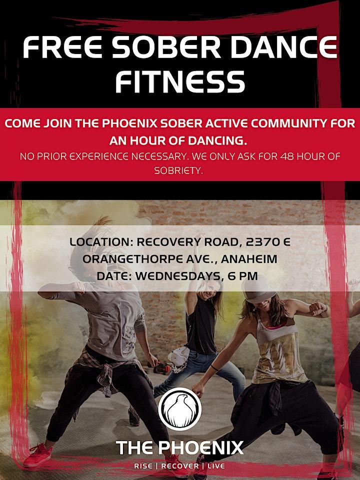 FREE SOBER Dance Fitness image