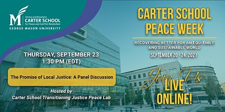 The Promise of Local Justice: A Panel Discussion tickets
