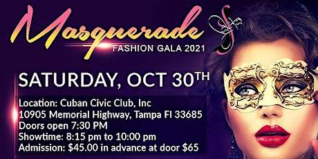 Masquerade Fashion Gala 2021 tickets