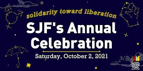 2021 SJF Annual Celebration tickets