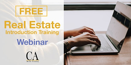 Free Real Estate Intro Session - Half Moon Bay tickets