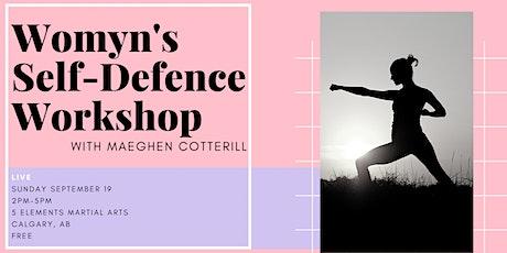 Womyn's Self-Defence Workshop [LIVE] tickets