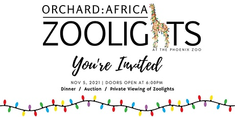 Orchard: Africa ZooLights tickets