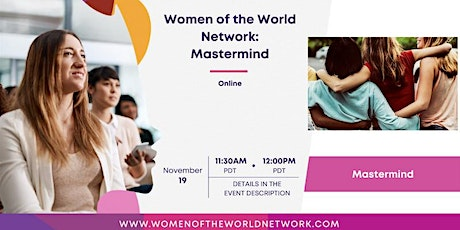 Women of the World Network™: Member Mastermind tickets