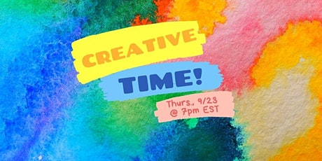 Creative Time! an interactive play group for curious adults tickets