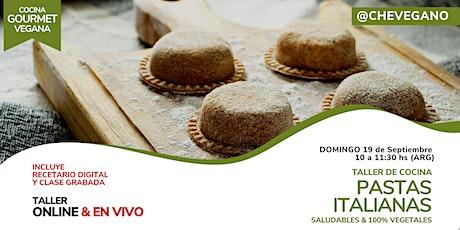 Cocina Gourmet: PASTAS ITALIANAS  Saludables tickets