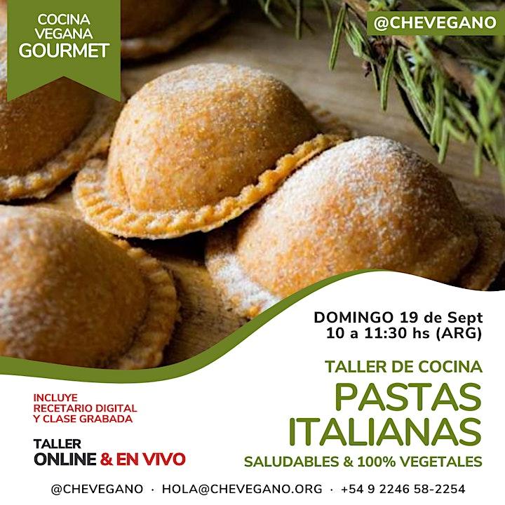 Imagen de Cocina Gourmet: PASTAS ITALIANAS  Saludables