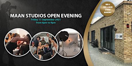Open Evening - Photography Studio MAAN Studios tickets