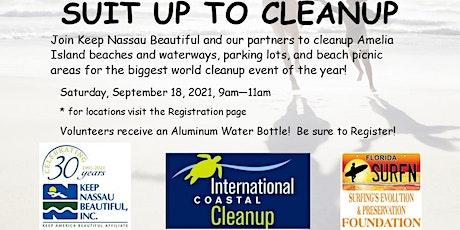 International Coastal Cleanup tickets