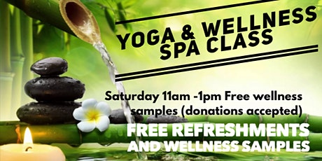 Free Yoga & Wellness Class tickets