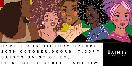 Can You Poet: Black History Speaks tickets