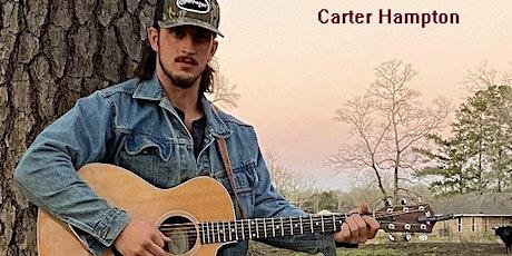 Carter Hampton:  Live Music Thurs Oct 14th 6p at La Divina tickets