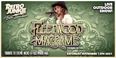 Fleetwood Macrame (Fleetwood Mac Tribute) LIVE @ Retro Junkie tickets