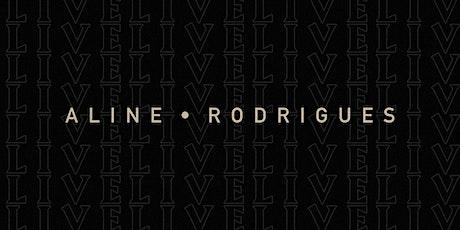 Gravação Aline Rodrigues ingressos