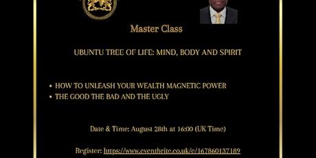 Ubuntu Wealth Creation  - Ubuntu Tree of Life (Master Class) tickets