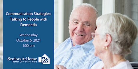 Communication Strategies: Talking to People with Dementia tickets